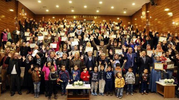 86 Engelliye evlilik okulu sertifikası