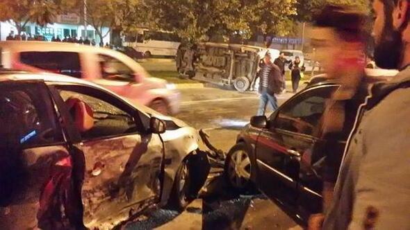 Antalyada kaza: 8 yaralı