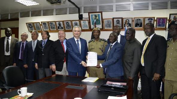 Afrikanın en büyük Adli Tıp Enstitüsünün eğitimi Çukurova Üniversitesine emanet