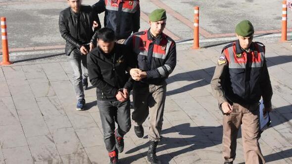 Edirnede bir yılda 95 terör şüphelisi yurt dışına kaçarken yakalandı