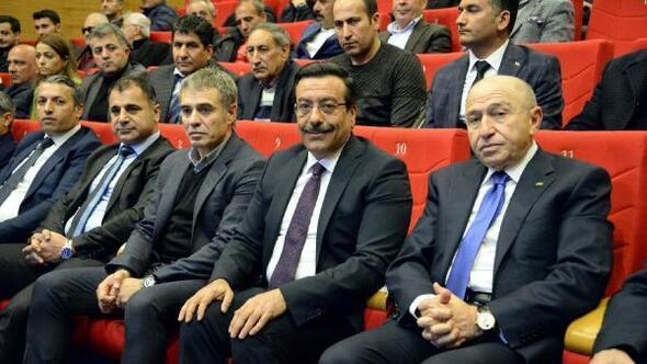 TFF Başkanvekili Özdemir: Türk futbolunun en önemli sorunlarından bir altyapıdır