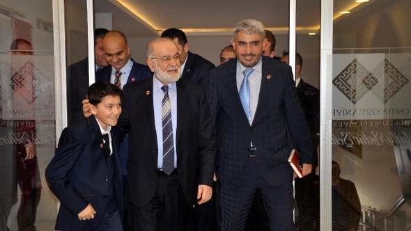 SP Lideri Karamollaoğlu: Türkiyenin birinci problemi kutuplaşma