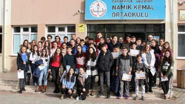 Geliboluda öğrencilere, topluma hizmet eğitimi verildi