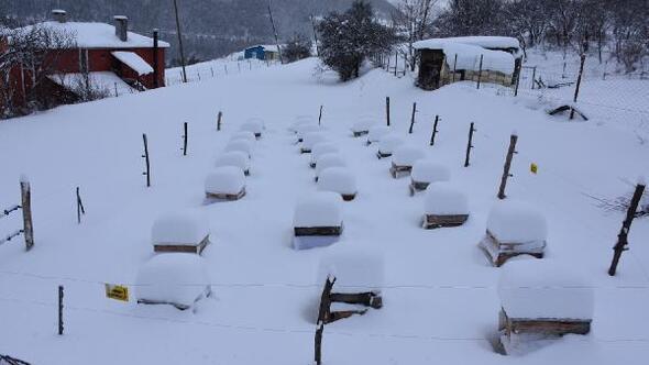 Posofta 46 köy yol kardan kapalı