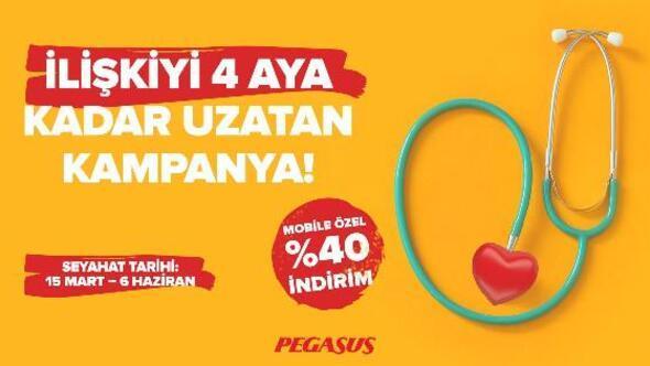 Pegasus Havayolları'ndan sevgililer günü kampanyası