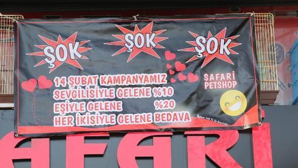 Rizede gülümseten 'Sevgililer günü' kampanya afişi