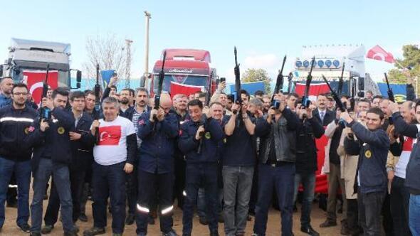 Afrindeki Mehmetçiğe 4 bin 500 adetMPT-76 tüfeği gönderildi