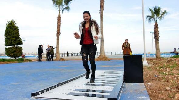 Ayak piyanosu ile hayatın ritmi