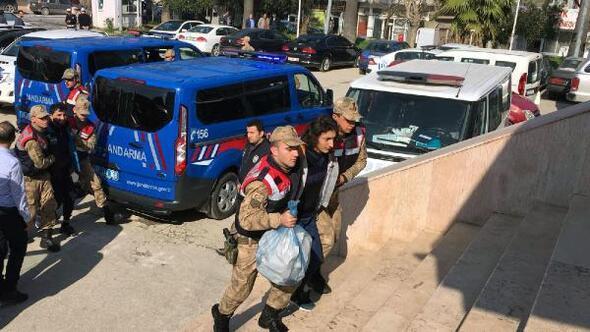 Yayladağında 7 kişi tutuklandı