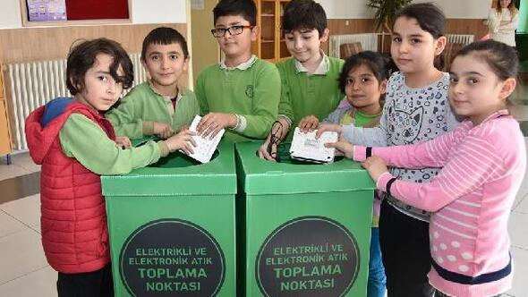 Kocasinan Belediyesi, E-Atık toplama yarışmasını başlattı
