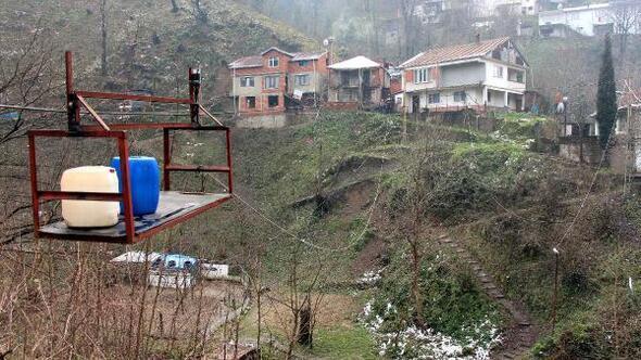 4 binada yaşayan 15 kişininköprü sıkıntısı