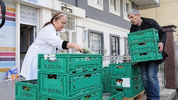 Gıda Bankası 'Fazla Gıda'yı ihtiyaç sahiplerine ulaştırıyor