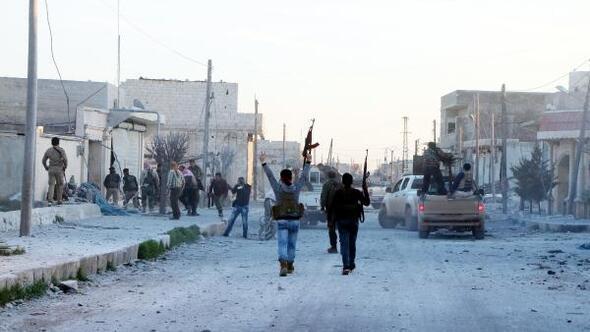 Terörden temizlenen köyde kutlama ve sevinç