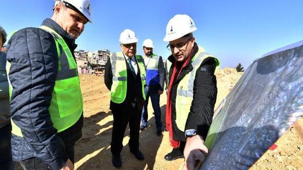 İzmirin en uzun tünelinde kazı başladı