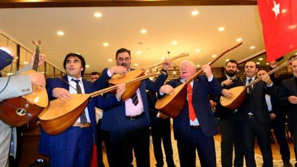 Ardahanlı muhtarlardan Zeytin Dalı Harekatına destek gecesi