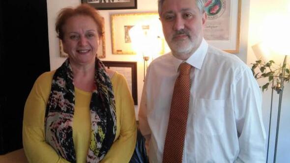İzmirli gazetecilerden Murat Sabuncuya ziyaret