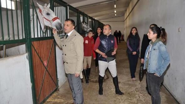 Eskişehirde atlı terapi antrenörleri yetiştirilecek