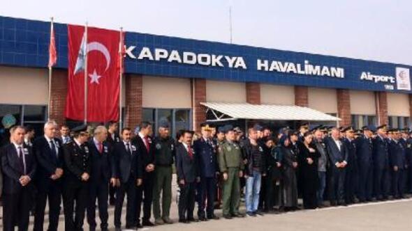 Şehit Pilot Üsteğmen, Nevşehirden uğurlandı