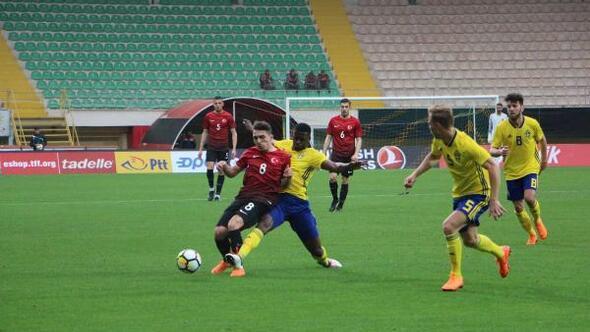 Türkiye - İsveç: 0-3 (U21)