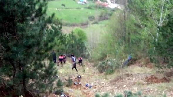 Karabükte cezaevi nakil aracı uçuruma yuvarlandı: 2 şehit, 15 yaralı - Fotoğraf