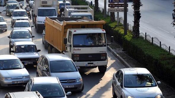 Batı Akdenizin araç sayısı