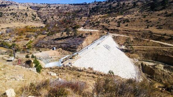 Dereyurt Göleti ve Sulaması Projesinde sona yaklaşılıyor