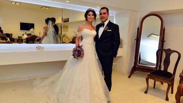 Merve ile Enver evlendi