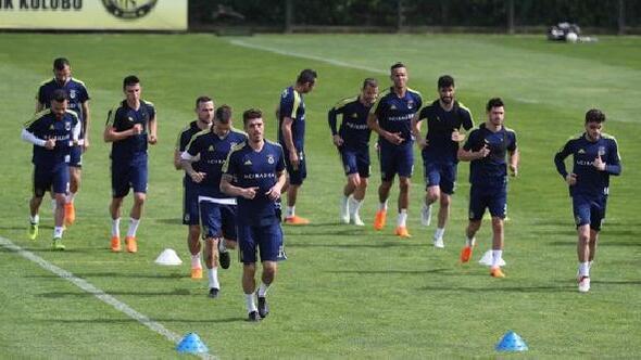 Fenerbahçe, Osmanlıspor maçı hazırlıklarını sürdürdü