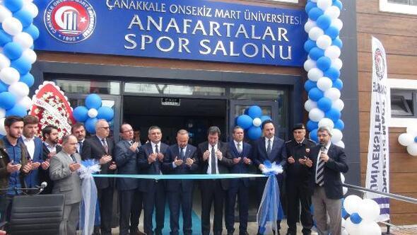 ÇOMÜ Anafartalar Spor salonu hizmete açıldı