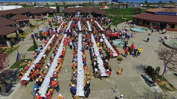 Trabzon'da, Kayserisporlu taraftarlar ağırlandı