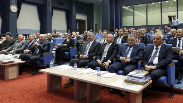 Büyükşehir Meclisinde komisyonlar belirlendi