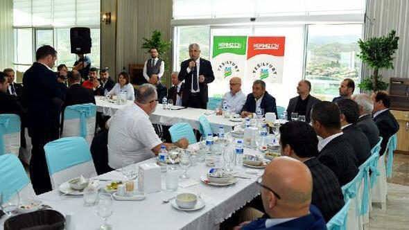 Başkan Polat, tekvandocuları ağırladı