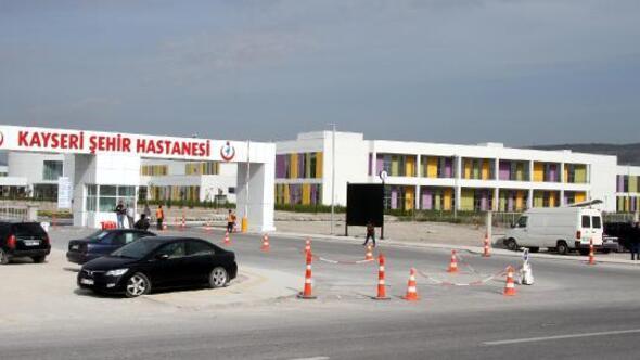 415 milyon euroya mal olan Kayseri Şehir Hastanesi 5 Mayısta açılacak
