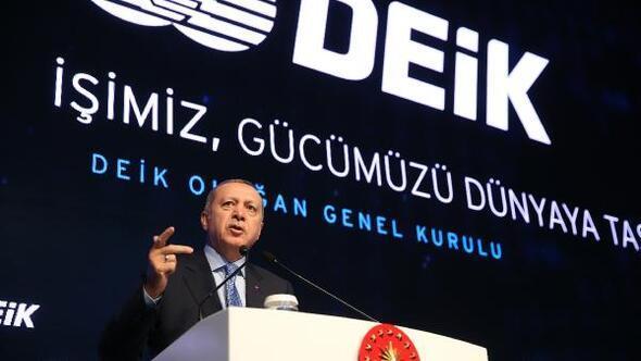 (ek fotoğrafla geniş haber) Erdoğan: Parasını alıp yurt dışına gidene diyecek bir sözümüz kalmamıştır