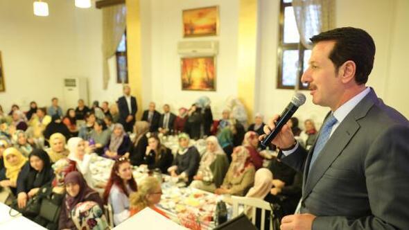 Başkan Tok: İlkadım'da kadınlara hizmet devam ediyor