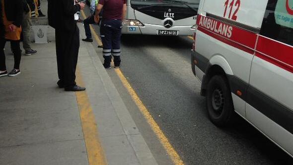 Metrobüsün ezdiği Suriyeli çocuk öldü