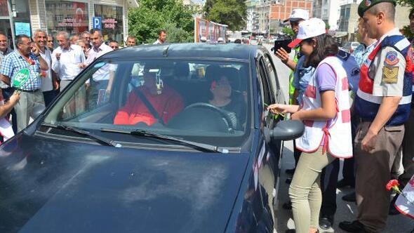 Mut'ta Trafik Haftası kutlandı