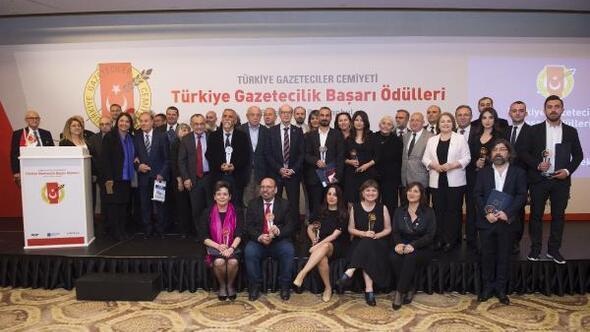 TGC Türkiye Gazetecilik Başarı Ödülleri verildi