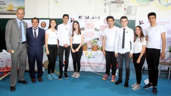 Liselilerden ilgi çeken savaş teknolojisi ve tarım ürünleri