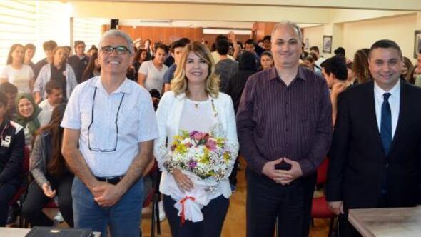 Antalya Lisesinde mühendislik söyleşisi