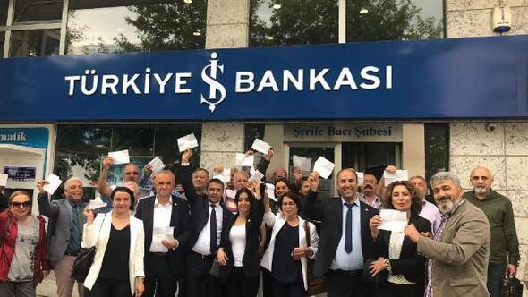 Kastamonuda CHPlilerden İnce'nin seçim kampanyasına bağış