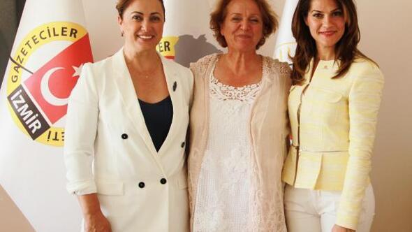 CHPli kadın adaylardan İGC ziyareti