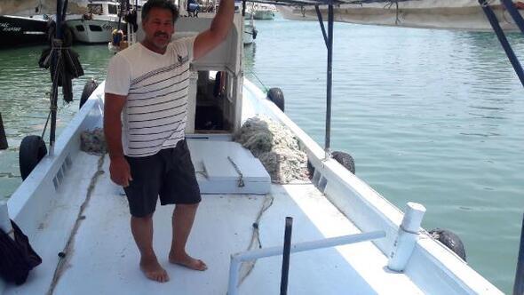 Adanada balıkçının aracı isyanı