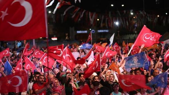 Cumhurbaşkanı Erdoğan Bağcılardan 267 bin 253 oy aldı