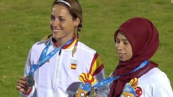 Milli atlet Zübeyde Süpürgeci altın madalya kazandı