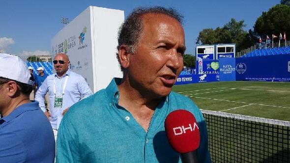 Cengiz Durmuş: Sistemimiz Türk tenisini Grand Slamlere taşıyacak