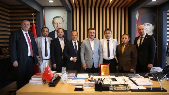 Başkan Taşçı'ya 'Turizm' teşekkürü