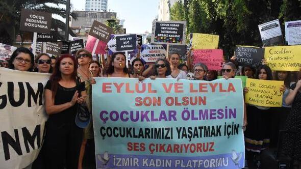 İzmir, çocuk ölümleri ve tacizlerine karşı ayakta