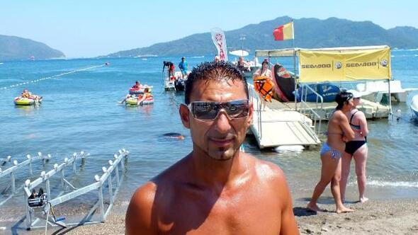 Marmariste turistlerin vazgeçilmezi su sporları