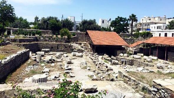 Halikarnas Mozolesini açık hava müzesine dönüştürecek proje tanıtıldı